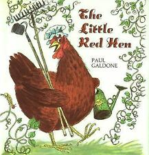 Paul Galdone Classics: The Little Red Hen by Paul Galdone (2006, Big Book)