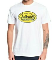 QUIKSILVER MENS T SHIRT.NEW WHAT WE DO BEST WHITE COTTON SHORT SLEEVED TOP 9W 92