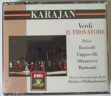 GIUSEPPE VERDI - IL TROVATORE KARAJAN  2-CD SET - PRICE - BONISOLLI - NEW