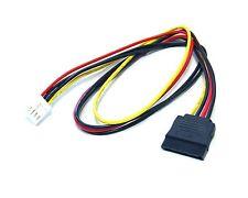 Bytecc SATA-FDD-20 SATA Power 15-pin to FDD Power 4-pin Cable