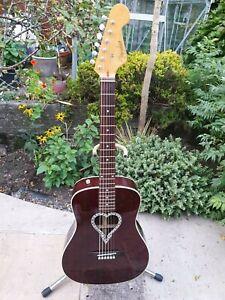 Fender Alkaline Trio Malibu Acoustic Guitar California Series