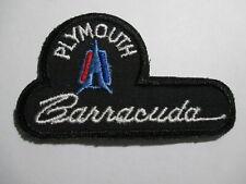 Plymouth Barracuda Patch, Vintage, Original, NOS 3 5 /16 X 2 INCHES