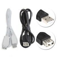 USB 2.0 Type A Female to A Male Extension Cable Cord Extender Adapter For Phones