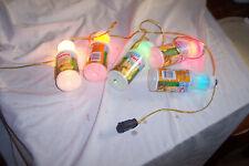 deck iced tea bottle string lights