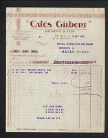 "PARIS XVIII° / USINE de CAFES / TORREFACTION ""GILBERT & Fils"" en 1926"