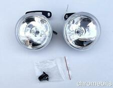"""UNIVERSAL 12v CLEAR ROUND FOG SPOT LIGHTS LAMPS LIGHT 90MM 3.54"""" FOR CITROEN"""