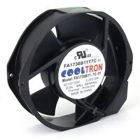110V / 115V / 120 V AC Cooling Fan. 172mm x 150mm x 38mm (HS1738A)