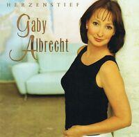 GABY ALBRECHT - Herzenstief - CD Album NEU Sehnsuchtsmelodie Fang den Wind