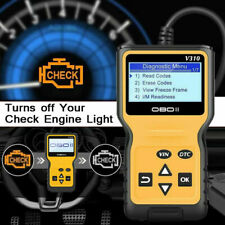 OBDII EOBD CAN Car Engine Check Code Reader Diagnostic Scanner Tool US Stock