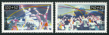 Germany B687-B688, MNH. Popular Sports. Handball, Physical fitness, 1990
