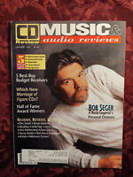 CD Review Magazine January 1992 BOB SEGER Hall Of Fame Receivers