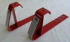 Set of 2 Qual-craft Roof Brackets. Roofer Safety, Slide Guard