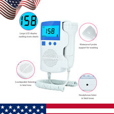 3.0 MHz Probe Prenatal Fetal Doppler Baby Heartbeat Monitor Ultrasonic Detector