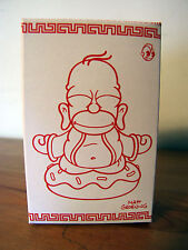 LootCrate Exclusive Kidrobot Gold Vinyl Homer Simpson Budda Figure Sealed