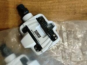 TIME ATAC Alium MTB Pedals White , Old School MTB NOS