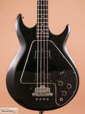 Vintage Gibson Ripper L9-S Bass Black Bass Guitar good condition from Japan