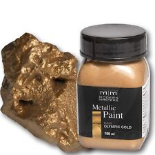 Olympic Gold Metallic Paint 100ml Modern Masters Metallfarbe Metalleffekt Acryl
