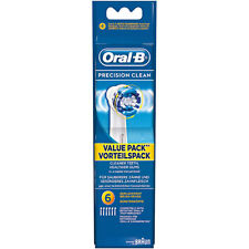 Oral-B Precison Clean Aufsteckbürsten, 6 Stück-