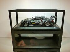 MINICHICHAMPS BMW M3 DTM 2013 TEAM SCHNITZER SPENGLER - 1:18 - EXCELLENT IN BOX