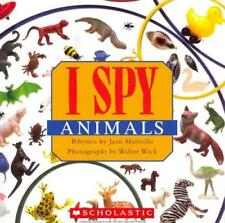 I SPY ANIMALS - MARZOLLO, JEAN/ WICK, WALTER (ILT) - NEW PAPERBACK BOOK