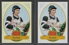 RARE 2012 PANINI GOLDEN AGE STEVE CAUTHEN WHITE BORDER /58 & BASE CARD #125 LOT