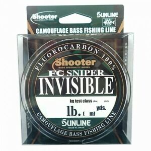 Sunline Shooter FC Sniper Invisible 82.5yds 10lb Multicolor Fluorocarbon