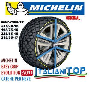Cadenas de Nieve Medias Michelin Easy Grip Evo 11 Compatibilidad ' Ver Info
