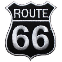 Rout 66 Highway Logo Patch Iron On Patch Sew On Embroidered Patch