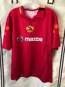 AS Roma Vintage Soccer Jersey Francesco Totti XL Camiseta Retro Fubtol Italy