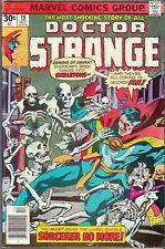 DOCTOR STRANGE #19 1976 MARVEL -DEMONS OF DENAK- WOLFMAN/ALCALA...FN/FN+