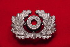 GERMAN WWII WREATH AND COCKADE - OFFICER - WEHRMACHT - REPRODUCTION