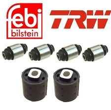 NEW BMW E32 E34 88-94 Rear Rearward Subframe Mount and Trailling Arm Bushing Kit