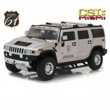 HIGHWAY 61 2003 HUMMER H2 CSI: MIAMI(2002-2012 TV SERIES) DIECAST 1/18 HWY-18006