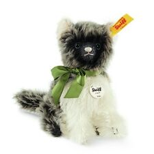 STEIFF EAN 031816 Fluffy Cat Mohair New in Steiff Gift Box