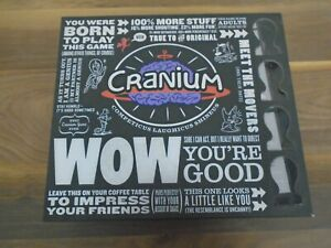 Cranium WOW You're Good Board Game - Complete Delux Edition Complete