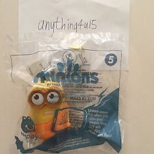 2015 McDonald's Happy Meal MINIONS  - Talking Caveman Minion Toy #5 w/ #2 Voice