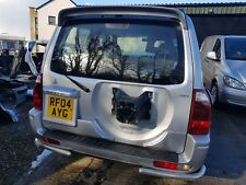 MITSUBISHI SHOGUN 2004 REAR TAIL GATE SILVER