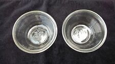 Vintage Anchor Hocking Glass Custard Cups, USA (2)
