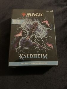 Magic the Gathering  MTG Kaldheim Collector Edition 15- Card Booster New