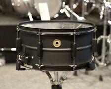 "Tama Metalworks 14""x6.5"" Black on Black Steel Snare Drum #488"