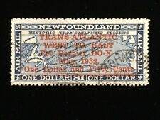 NEWFOUNDLAND: USED #C12 RARELY SEEN USED, ST. JOHNS CANCEL CV $400