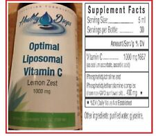 "LIPOSOMAL VITAMIN C ""30,000mg per Bottle"" LIQUID NON-GMO SOY FREE Exp: 12/2019"