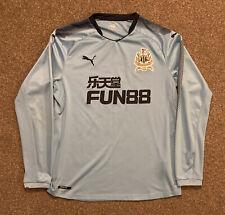 Newcastle United 125th Anniversary 2017/18 Long Sleeve Away Shirt, XL, VGC