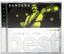 CD Simply The Best-Santana