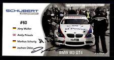 Markus Schurig und Jochen Übler  Original Signiert Motorsport + G 20834