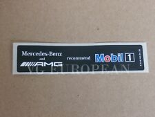 Mercedes-Benz Genuine AMG Mobil 1 Oil Sticker Label Decal NEW
