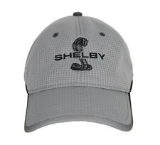 Carroll Shelby Signature Super Snake Gray Mesh Hat Ford Mustang GT500 Terlingua