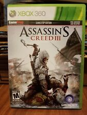 Assassins creed III Gamestop Edition for Xbox 360