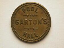 Chelan Wash Garton's Pool Hall 5c Token