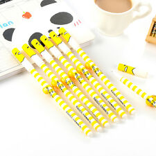 2PCS Cute Funny Egg Gudetama Gel Ink Rollerball Pen Students Writting Stationery